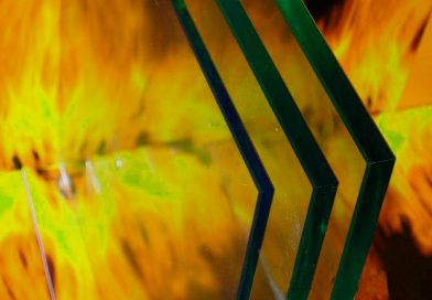 Пожаростойкое стекло